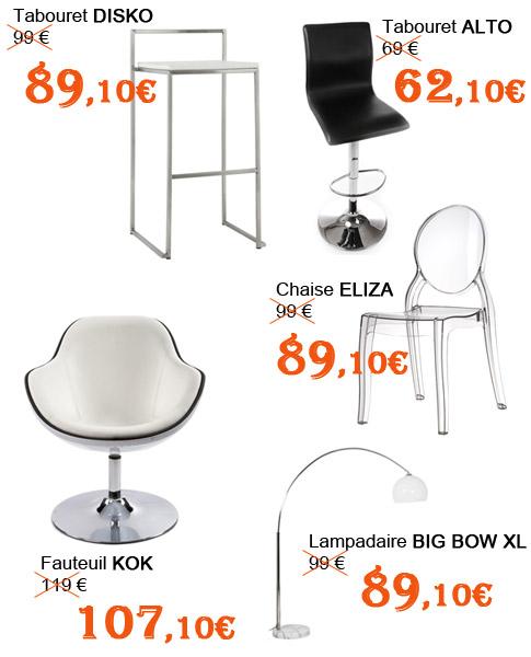 Sélection de produits Alterego Design pour les soldes