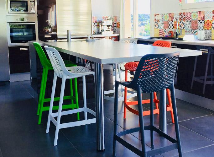 Les tabourets pour le bar de ma cuisine, épilogue - Alterego Design