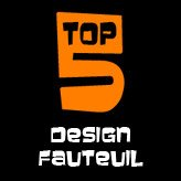 TOP 5 - Design fauteuils
