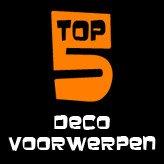 TOP 5 - De decoratievoorwerpen