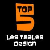 TOP 5 - Les tables design