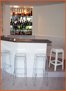 Bar de salon classique - Alterego Design