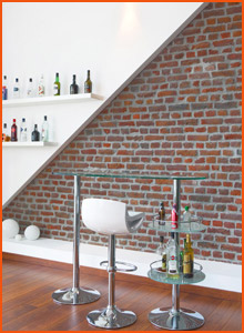 Bar de salon contemporain - Alterego Design