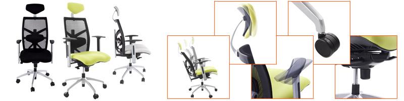 Fauteuils de bureau ergonomiques - Alterego Design