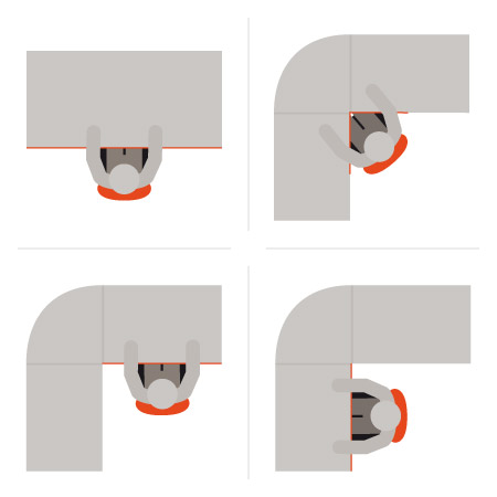 Formes du plateau de votre bureau - Alterego Design