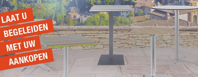 Alterego Koopwijzer - Design tafelvoeten en tafelbladen