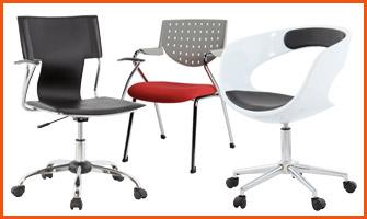 Eenvoudige bureaustoel - Alterego Design