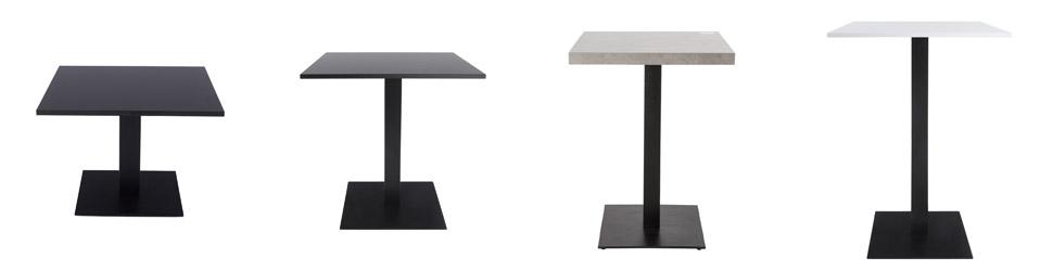 Hauteurs des pieds de table Alterego Design