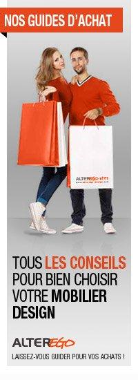 Guides d 39 achat du mobilier design for Achat mobilier design
