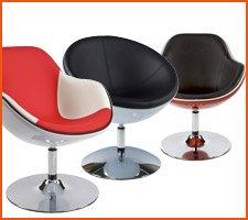 De bolvormige fauteuils - Alterego Design