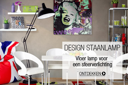 Design staanlamp - Alterego