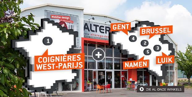 Alterego Design meubel winkels