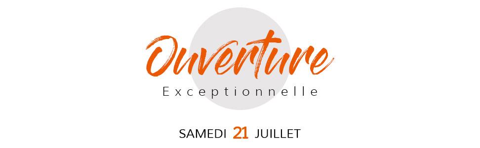 Ouverture exceptionnelle 21 juillet - Magasin de meubles Alterego à Bruxelles