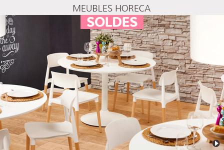Soldes d'été 2018 Belgique - Meubles pour HORECA
