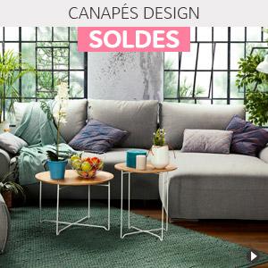 Soldes d'été 2018 Belgique - Canapés design