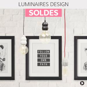 Soldes d'été 2018 Belgique - Luminaires design