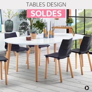 Soldes d'été 2018 Belgique - Tables design