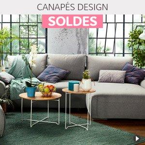 Soldes d'hiver 2018 France - Canapés design