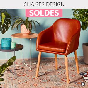 Soldes d'hiver 2018 France - Chaises design