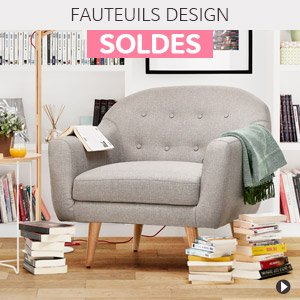 Soldes d'hiver 2018 France - Fauteuils design