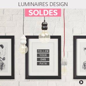 Soldes d'hiver 2018 France - Luminaires design