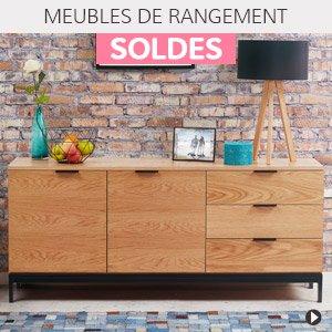 Soldes d'hiver 2018 France - Meubles de rangement design