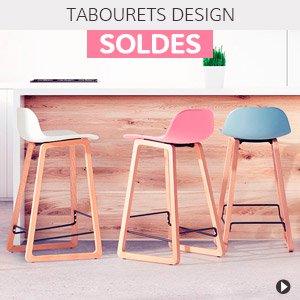 Soldes d'hiver 2018 France - Tabourets design