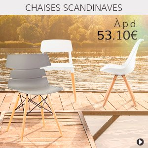 Meubles en soldes - Chaises scandinaves - Alterego France
