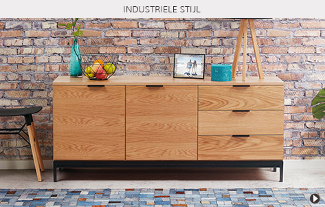 Industriële stijlen en inspiraties