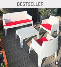 Salon de jardin PLEMO - Bestseller Alterego Design