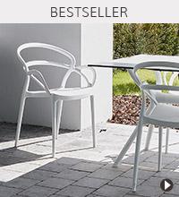 Alterego Design Bestseller - JULIETTE tuinstoel