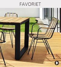 Alterego Design tuinmeubelen - BASTIA stoel