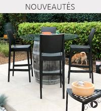 Tabouret de jardin CLARA - Nouveautés Alterego Design