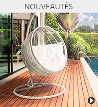 Fauteuil suspendu BAMBY - Nouveautés Alterego Design