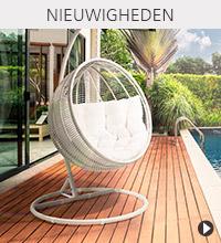 Alterego Design nieuwigheden - BAMBY hangstoel