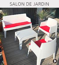 Salon de jardin PLEMO - Accessoire de jardin Alterego Design