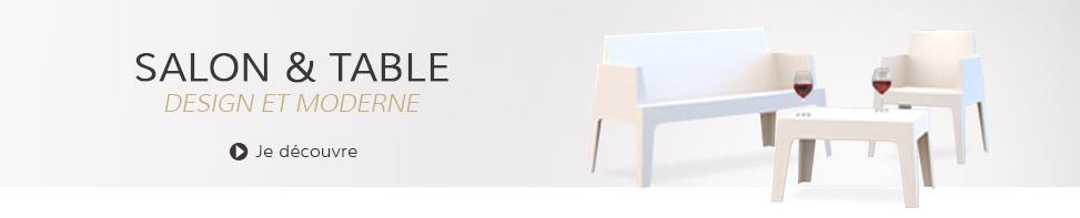 Table et salon de jardin - Alterego Design