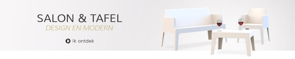 Tuinsalon en tuintafel - Alterego Design