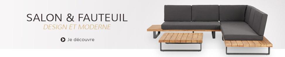 Salon et fauteuil de jardin - Alterego Design