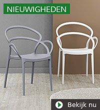 Alterego Design nieuwigheden - JULIETTE terrasstoel