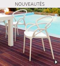 Nouveautes Alterego Design - Chaise de jardin SUNNY