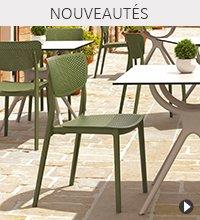 Chaise de jardin PALMA - Nouveautés Alterego Design