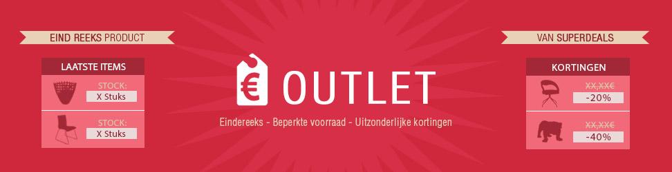 Outlet Alterego Design - uitzonderlijke kortingen - eindereeks