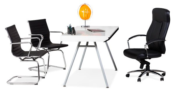 Chaise et fauteuil de bureau professionnel alterego france for Mobilier de bureau professionnel design