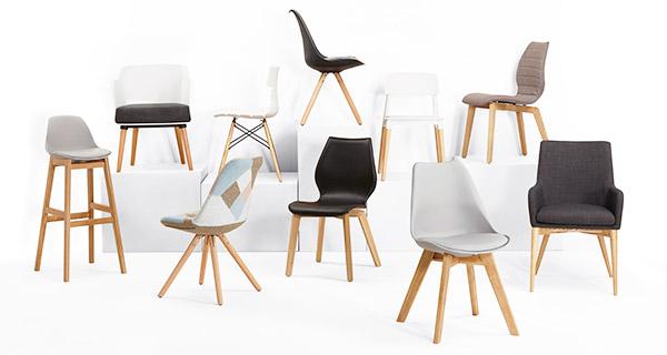 Chaise, fauteuil et tabouret pour CHR - Alterego Design