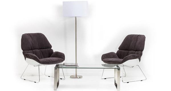 Mobilier d'accueil et de salle d'attente pour entreprise - Alterego Design