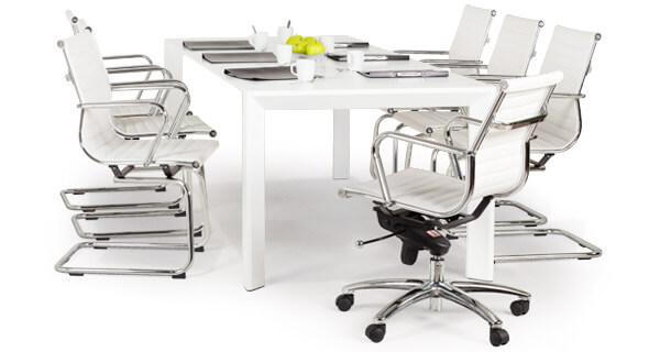 Zakelijke vergadertafel en -stoelen - Alterego Design